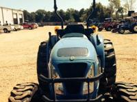 2011 New Holland Boomer 50 50HP 4WD Canopy Single