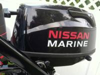 2011 NEW 5-HP NISSAN MARINE Four Stroke Outboard (Long