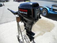 2011 Nissan 15hp Fourstroke with electrical beginning