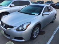 Clean CARFAX. Silver 2011 Nissan Altima 2.5 S FWD CVT