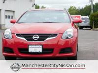 Altima 2.5 S FWD, 2D Coupe, 2.5L 4-Cylinder SMPI DOHC,