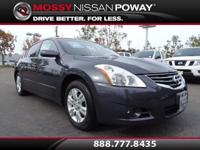 Clean Carfax. Altima 2.5 S and Slate. The car you've