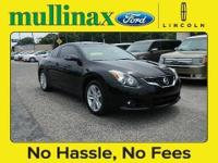 1-OWNER TRADE IN!!!! 2011 NISSAN ALTIMA 2.5 S COUPE,