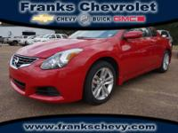 2011 Nissan Altima 2 Dr Coupe 2.5 S Our Location is: