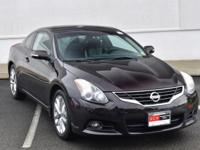 CARFAX One-Owner. Clean CARFAX. Super Black 2011 Nissan