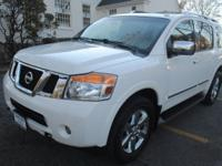 NISSAN ARMADA 4WD SL,WHITE ON BEIGE,NAVIGATION,