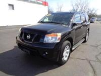 This 2011 Nissan Armada is a full-size SUV offered in