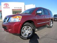 This 2011 Nissan Armada comes loaded with heated