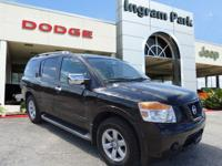 CarFax One Owner 2011 Nissan Armada SV. This full size