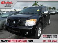 Options:  2011 Nissan Armada Sv|Black|5.6L V8|Automatic