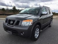 Options:  2011 Nissan Armada| This Is It. Carfax