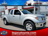 CARFAX One-Owner. New Price! Frontier SV, 4.0L V6 DOHC,
