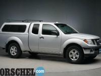 2011 Nissan Frontier SV Radiant SilverCarfax One-Owner.