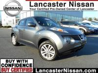 Our CarFax One Owner 2011 Nissan Juke S AWD in Gun