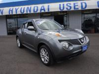 Recent Arrival! 2011 Nissan Juke Gray AWD. Odometer is
