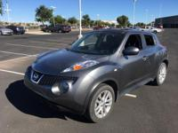 This Gun Metallic 2011 Nissan JUKE SV might be just the