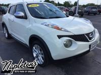 Recent Arrival! 2011 Nissan Juke in White Pearl, Backup