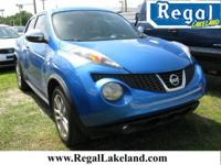 Electric Blue 2011 Nissan Juke FWD 1.6L I4 DOHC 16V