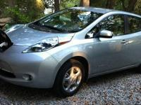 This is an all electric 2011 Nissan Leaf. Car is in