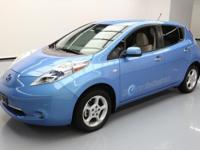 This awesome 2011 Nissan Leaf comes loaded with the