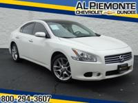 This Winter Frost Pearl 2011 Nissan Maxima 3.5 SV