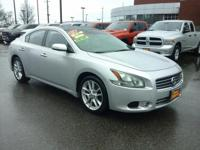Check out this gently-used 2011 Nissan Maxima we