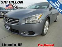Safe and reliable, this 2011 Nissan Maxima 3.5 SV