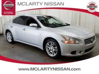 Silver Bullet! Gasoline! 2011 Nissan Maxima FWD.  This