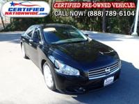 ONE OWNER - LOW LOW MILES! This 2011 Nissan Maxima is