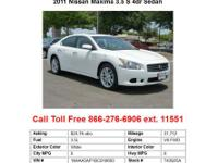 Town North Nissan presents this CARFAX 1 Owner 2011