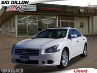 2011 Nissan Maxima 3.5 S White FWD 4 Door Sedan Ready