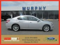 This outstanding example of a 2011 Nissan Maxima 4dr