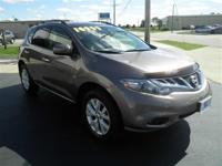 MURANO SL: AWD!..1 OWNER-LEATHER SEATING-HEATED FRONT