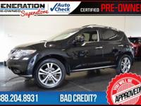 2011 Nissan Murano. Right SUV! Right price! Why pay