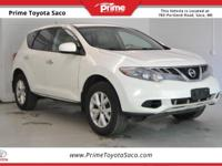 CARFAX One-Owner! 2011 Nissan Murano S in Glacier