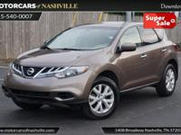 This 2011 Nissan Murano 4dr S features a 3.5L V6 DOHC