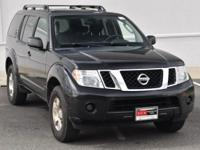 Clean CARFAX. Super Black Metallic 2011 Nissan