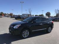 Super Black 2011 Nissan Rogue Krom AWD CVT 2.5L I4 DOHC