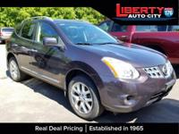 CARFAX One-Owner. Black Amethyst 2011 Nissan Rogue SL