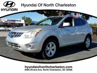 Clean CARFAX. Brilliant Silver 2011 Nissan Rogue SV FWD