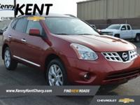 Local Trade, Leather, Alloy Wheels, Rogue SV, CVT, AWD,