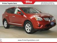 CARFAX One-Owner! 2011 Nissan Rogue SV in Cayenne Red!