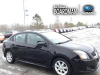 Super Black 2011 Nissan Sentra 2.0 SR FWD CVT with
