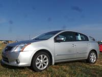 Options:  2011 Nissan Sentra |Silver|33|584 Miles|Stock