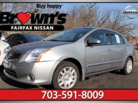 This outstanding example of a 2011 Nissan Sentra 2.0 S