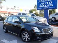 Options:  2011 Nissan Sentra 2.0 S|Black|Wow! Where Do