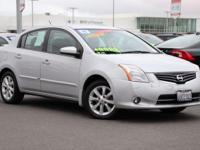 Clean CARFAX. Brilliant Silver Metallic 2011 Nissan