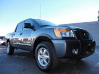 This 2005 Nissan Titan Crew Cab Pro-4X was just traded