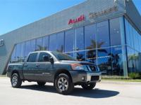 Clean CARFAX. Smoke 2011 Nissan Titan S 4WD 5-Speed