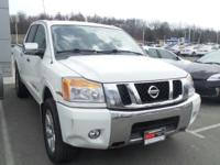 Clean CARFAX. Blizzard 2011 Nissan Titan SL 4WD 5-Speed